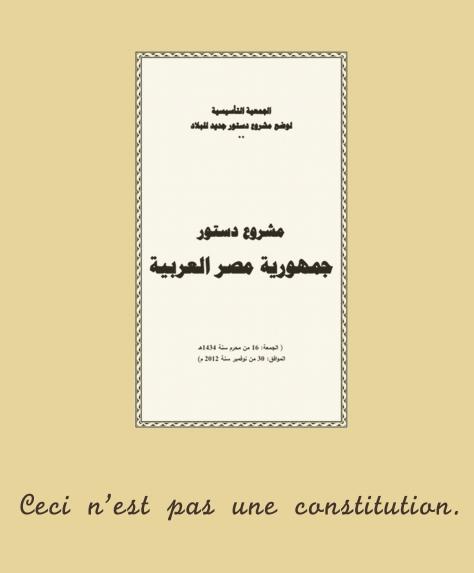 ceci n'est pas une constitution
